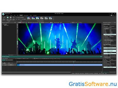 VSDC Free Video Editor screenshot