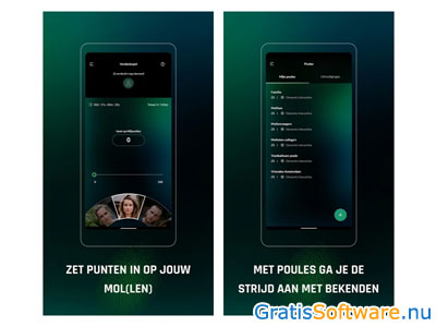 Wie is de Mol? app screenshot