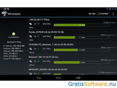 Gratis Wifi Signaalsterkte Meten Software En Apps