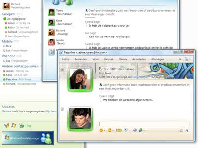 Windows Live Essentials Suite screenshot